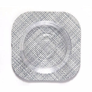 Square Coasters in Mist, Pack of 4