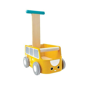 PlanToys Van Walker in Yellow