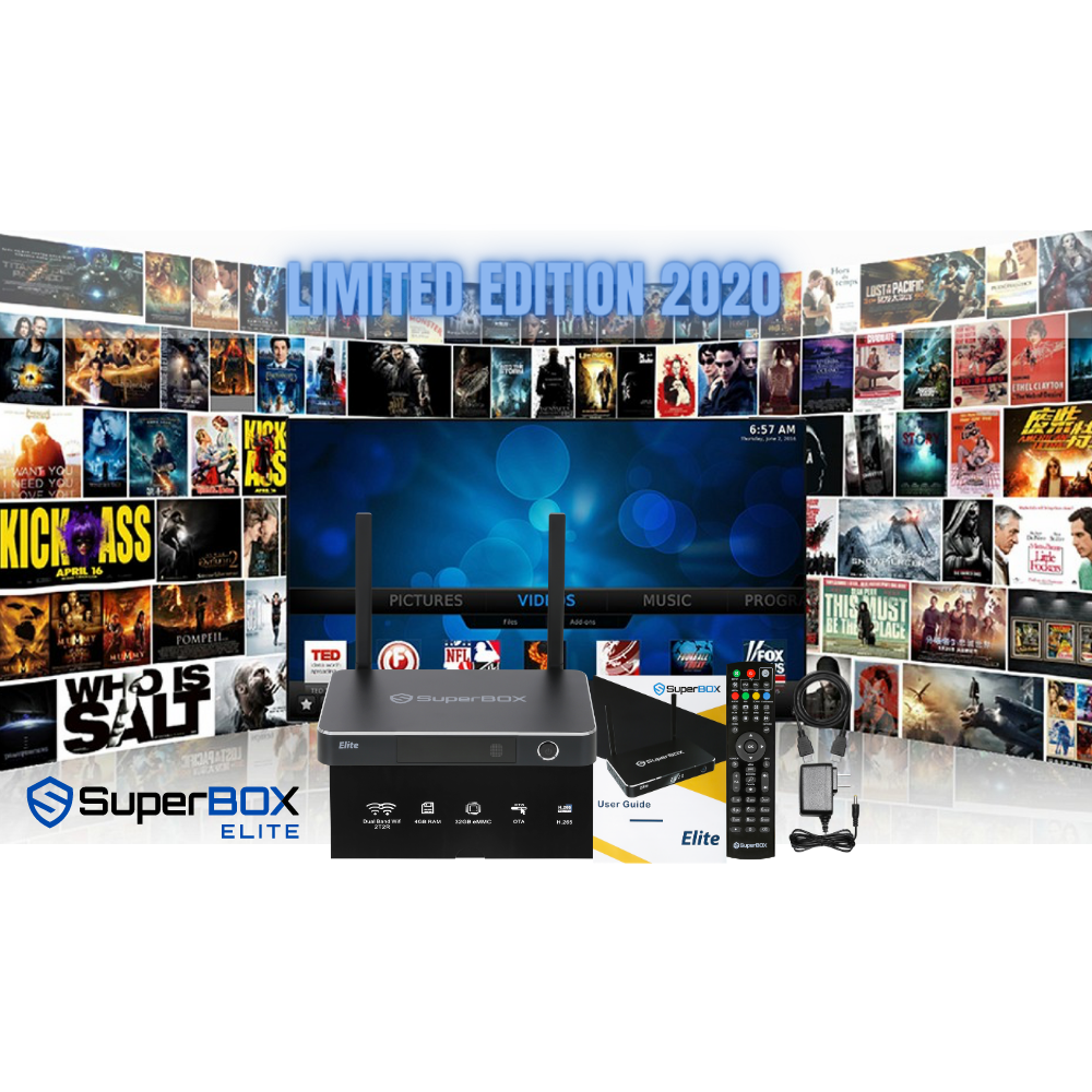 Superbox Elite 2020, Limited Edition 4GB 32 GB 6K IPTV Streaming Android Box Best Selling Box , Free Shipping UA