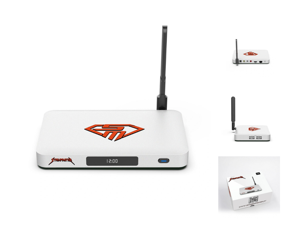 StreaMaster VIP 2020 4K Ultimate  Streaming TV Android Box
