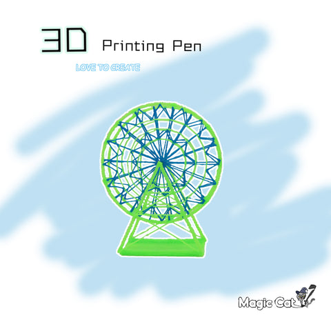 Magic Cat 3D Printing Pen -- Ferris Wheel