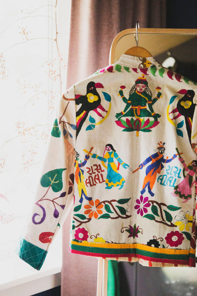 Indian Embroidered Jacket