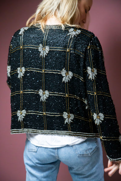 Silk Beaded Jacket