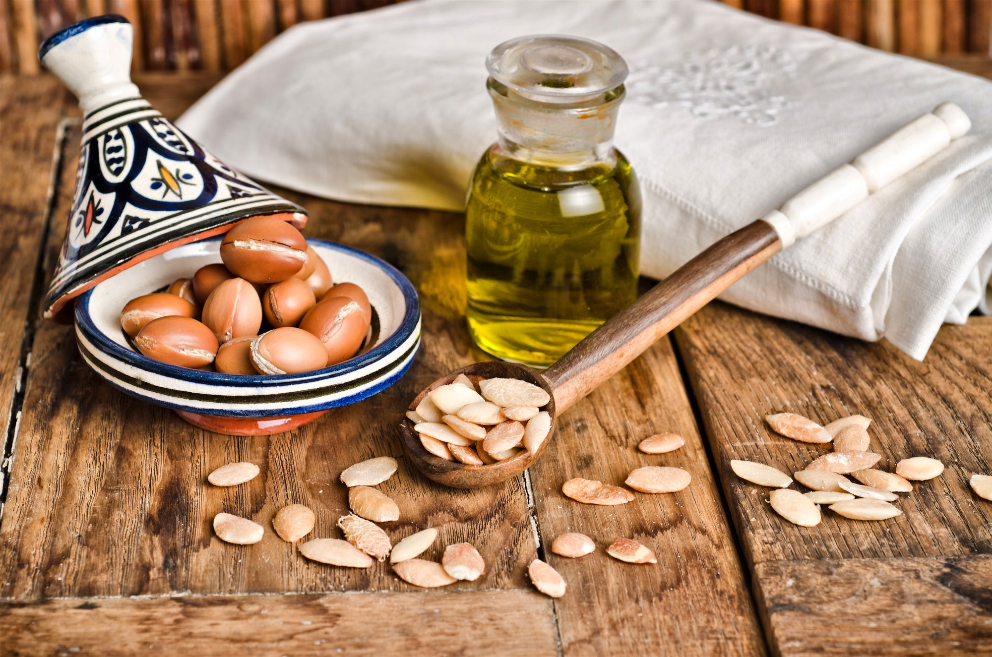 Using Argan oil for soft, shiny, and moisturized hair
