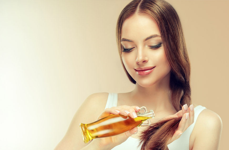 How to deep condition hair using hair oil