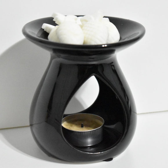 Gloss Black Oil Burner