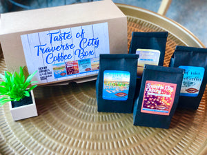 Taste of Traverse City Coffee Gift Box