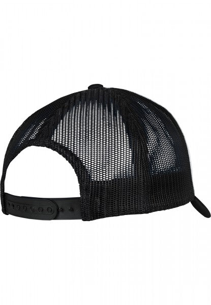 Flexfit trucker Black cap Mundaka