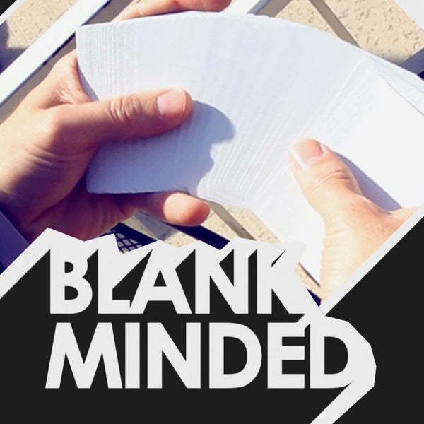 Blank Minded by Aaron Delong
