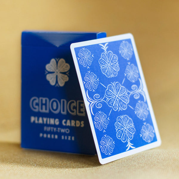 Blue Choice Playing Cards