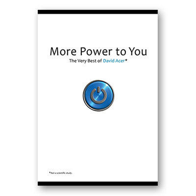 More Power to You: The Very Best of David Acer