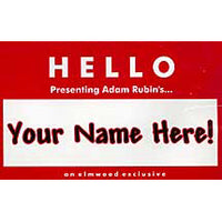 Your Name Here by Adam Rubin