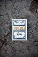 Black Honeybee Playing Cards
