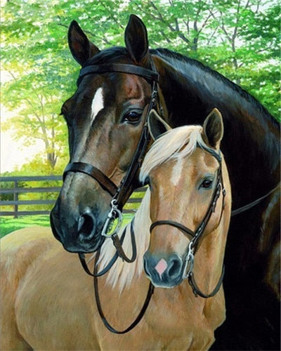 Equestrian Majesty - Artfully Bliss paint by numbers