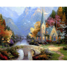 Load image into Gallery viewer, Vibrant Landscapes - Artfully Bliss paint by numbers