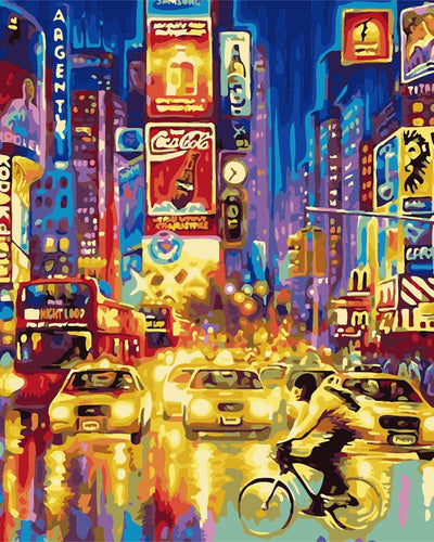 City Nights - Artfully Bliss paint by numbers