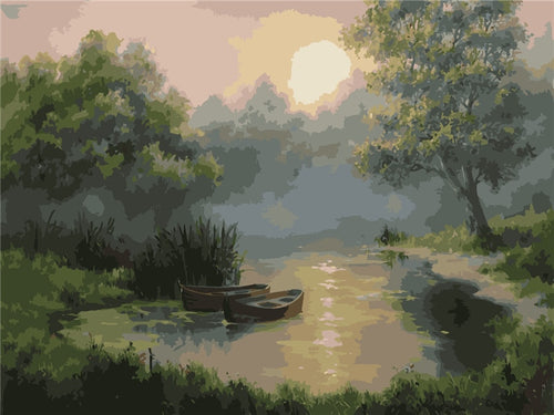 Natural Landscapes - Artfully Bliss paint by numbers
