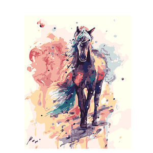 Colorful Animals - Artfully Bliss paint by numbers
