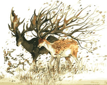 Load image into Gallery viewer, Floral Deer - Artfully Bliss paint by numbers