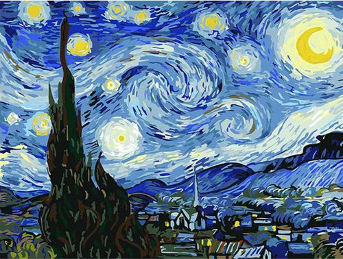 Van Gogh - The Starry Night - Artfully Bliss paint by numbers