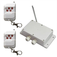 4 Channel 10A DC Output Wireless Remote Control Switch With Transmitter (Model: 0020216)