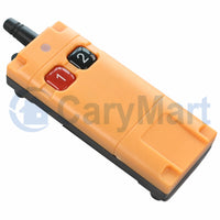 Strong Industrial Waterproof Long Range RF Remote Control / Transmitter Two Buttons (Model: 0021086)