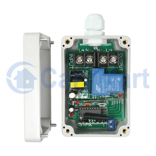 Wireless RF Switch with 1 Channel AC Power Output 30A (Model: 0020053)