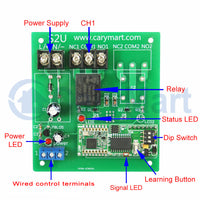 Super-Far Distances DC Power Dry Relay Output Remote Control Kit (Model: 0020685)