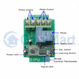 1 Way Long Range 5km DC 30A Wireless Switch Relay Output RF Receiver (Model: 0020090)