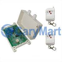 1 CH DC 30A Time Delay Wireless RF Remote Control Switch Kit (Model: 0020651)