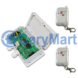 1 Channel 110V 220V 10A Adjustable Time Delay Remote Control Switch Kit (Model: 0020258)