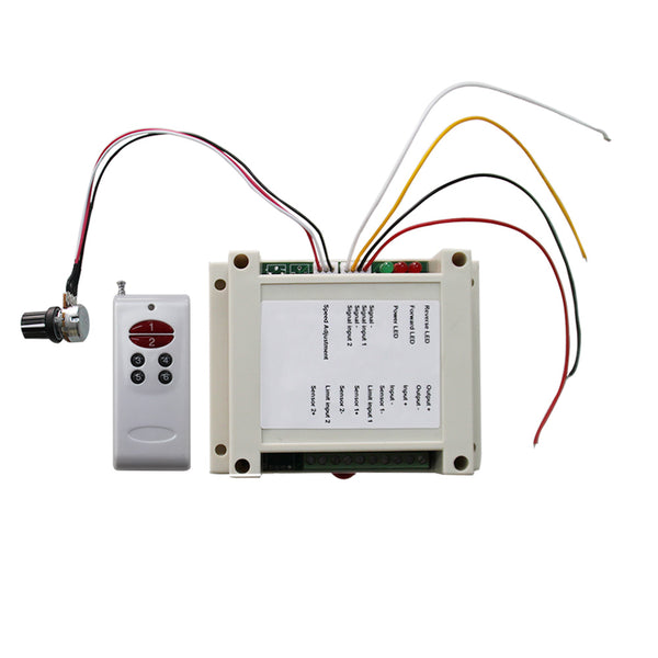 Pulse Width PWM DC Motor Speed Controller Wireless Remote Control Switch (Model: 0020151)