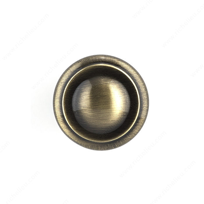 (Pack of 10)-Traditional Metal Knob - 8632