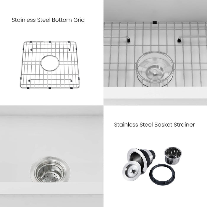 Cairo - Complete Set of Drawer Dividers (Birch) - RTA kitchen and Bath