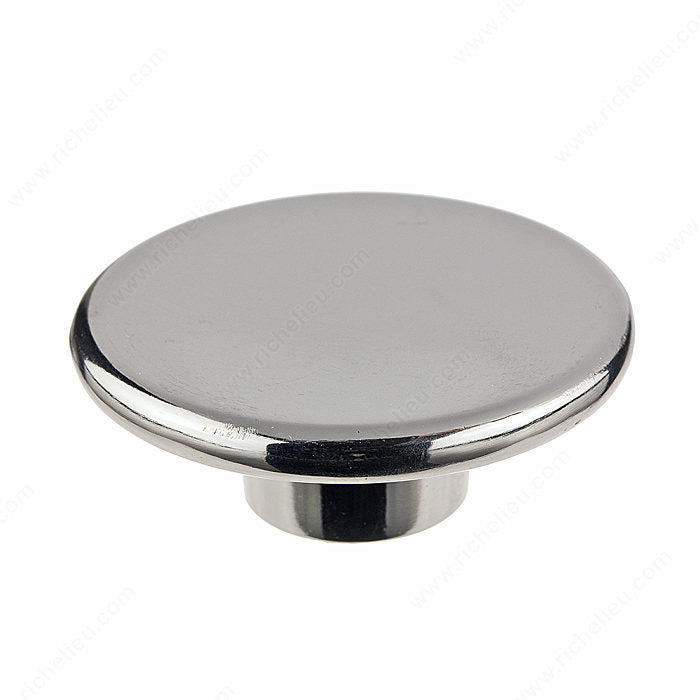 (Pack of 10)-Cabinet knob Contemporary Metal Knob - 8608