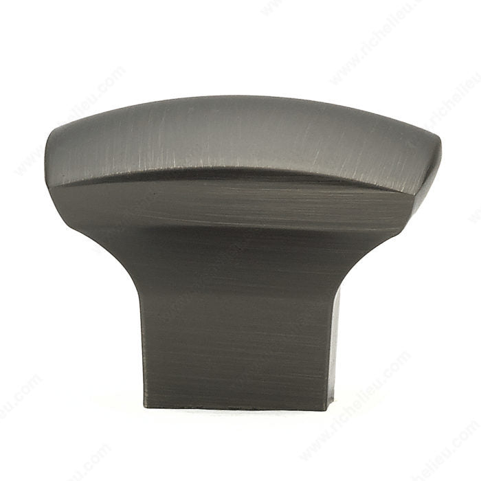 Contemporary Metal Knob - 8143