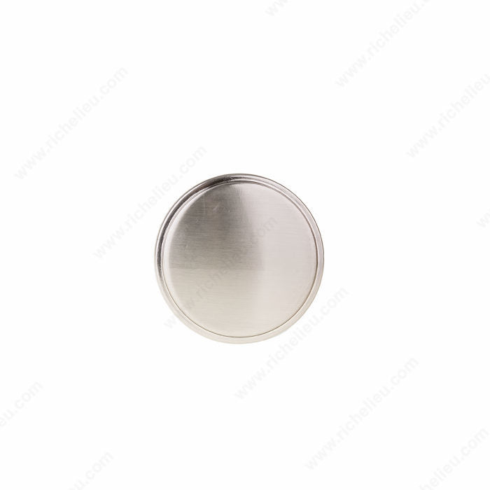 (Pack of 10)-Contemporary Metal Knob - 8726 - RTA kitchen and Bath