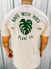 Load image into Gallery viewer, BWH 'Monstera Leaf' T-Shirt (Cream/green)