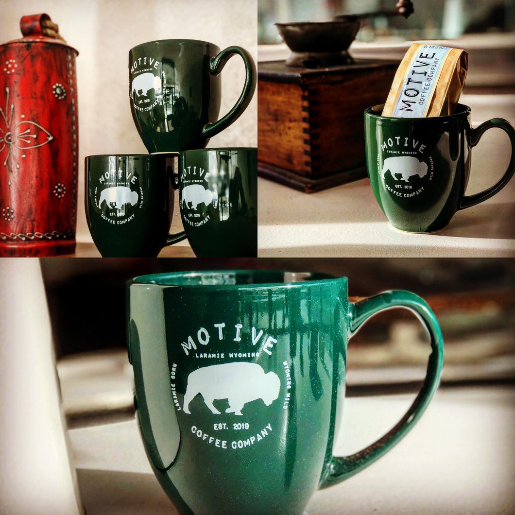 Motive Bistro Mug Green - Motive Coffee