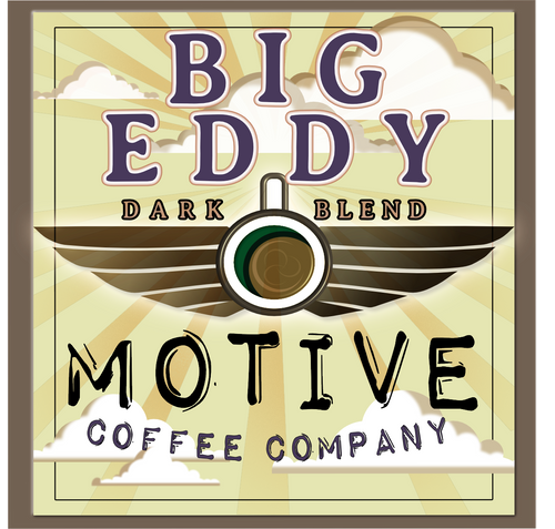 Big Eddy Dark Blend - Motive Coffee