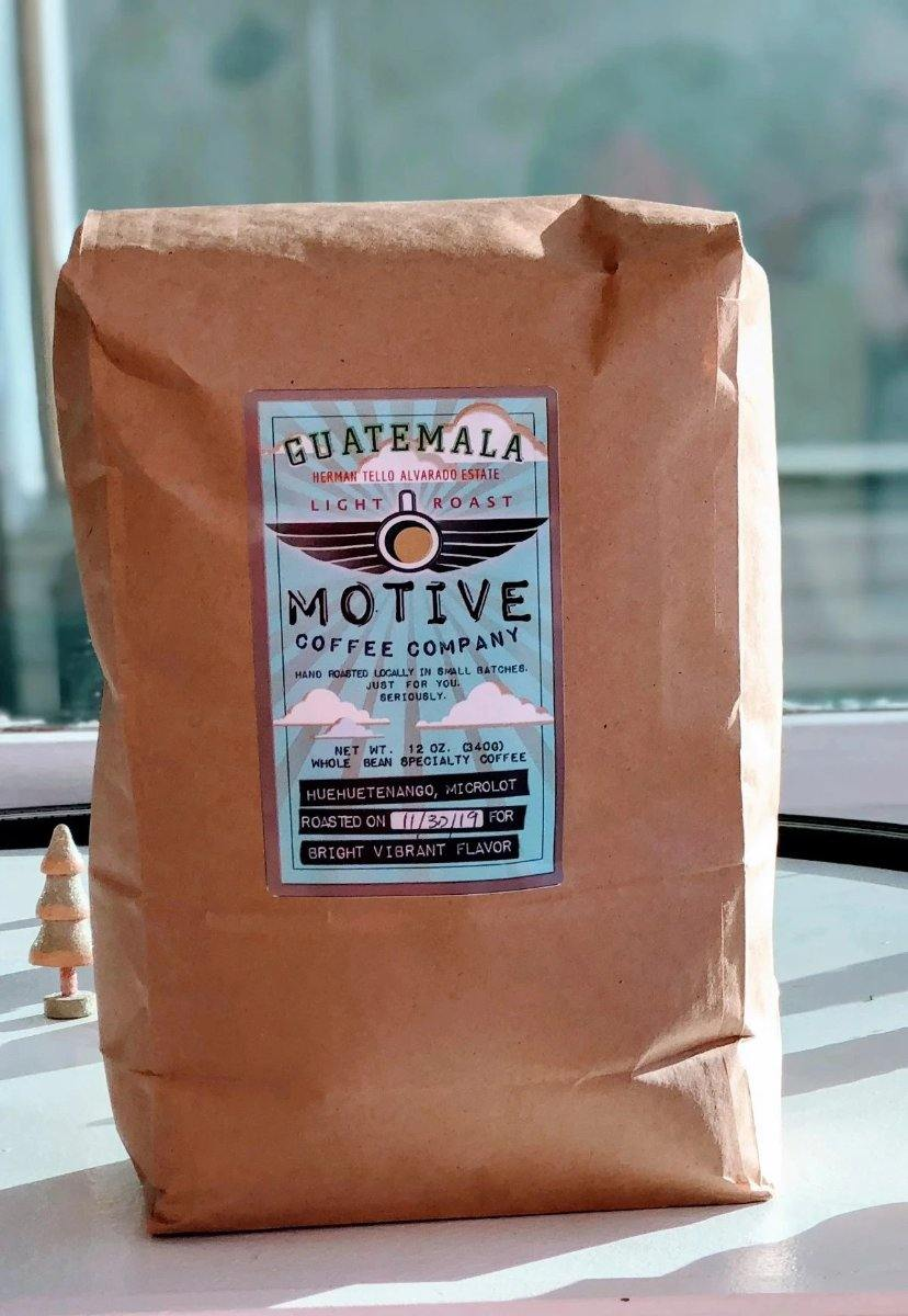 Wholesale Coffee - Motive Coffee