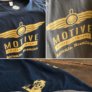 Motive Winged Mug Tee - Motive Coffee