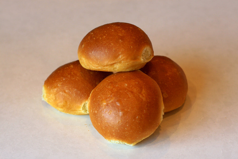 Load image into Gallery viewer, Brioche Burger Buns, 4-Pack