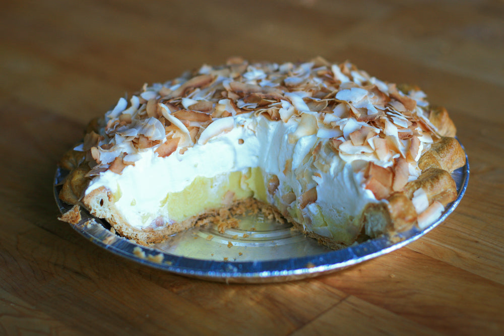 Coconut Cream Pie, Large