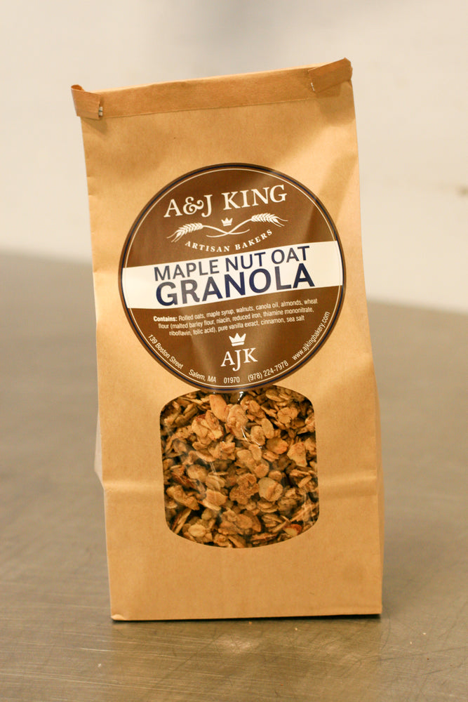 Maple Nut Oat Granola