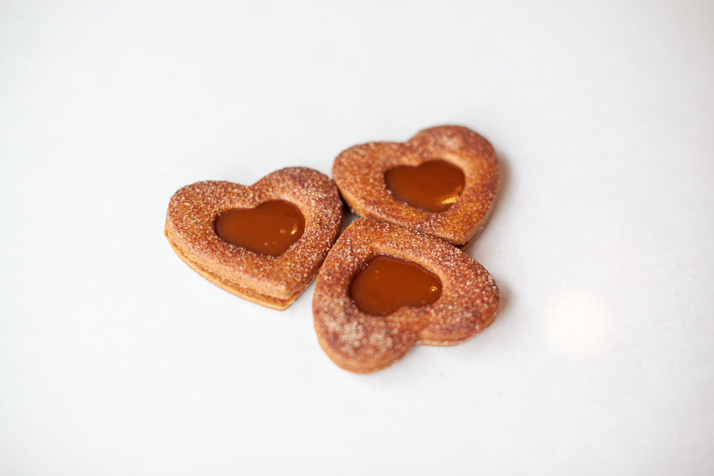 Spicy Caramel HEARTS, Bag