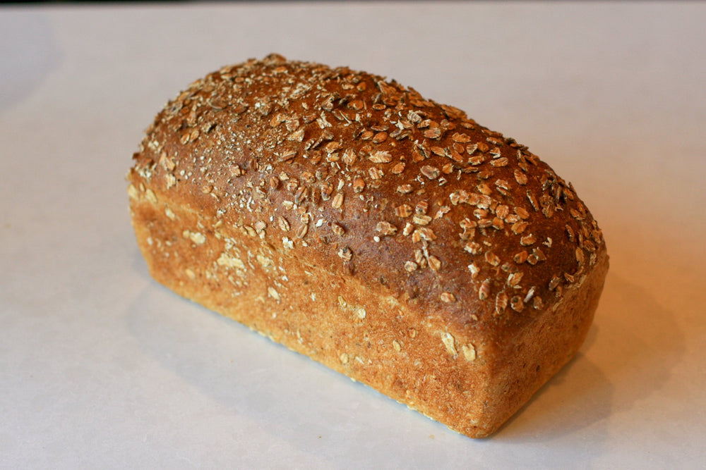 Seeded Honey Oat Pan Loaf