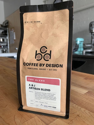 "A&J ""First Light"" Dark Roast Coffee"
