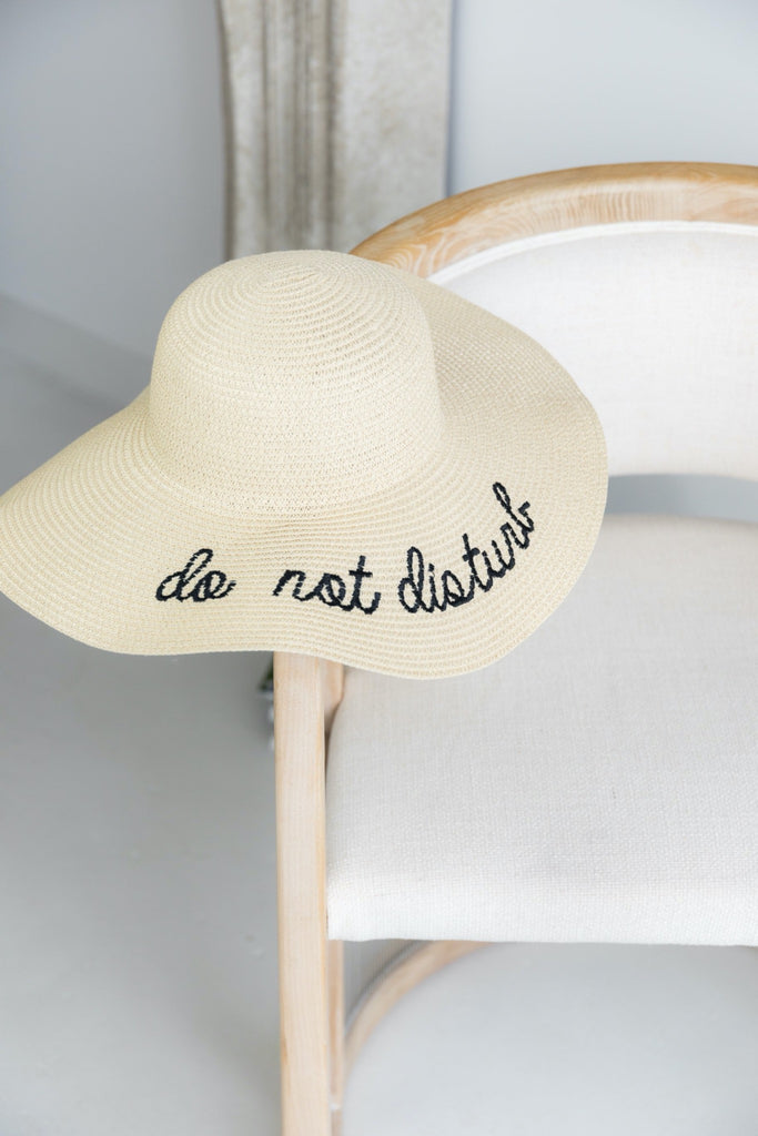 Do Not Disturb | Sun Hat