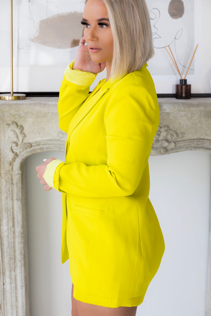Sophisticated Yellow | Blazer